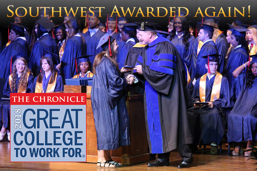 SMCC receives second designation from Great Colleges to Work For